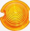Kawasaki G3TR Amber Lens for Bullet Style Turn Signal / Marker Light Lamp